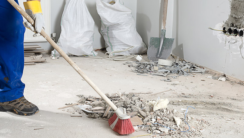 construction clean up CT