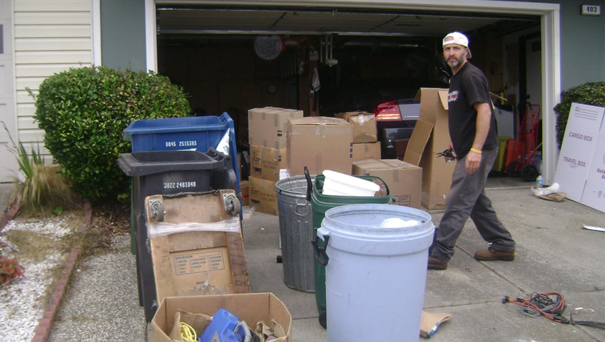 garage clean out CT